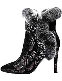 Borse 37 Donna Da Con Glitter E Scarpe Stivali it Amazon FqUzZxWw1n