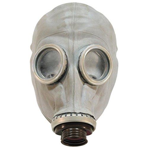 Russische Schutzmaske SchM-41M ohne Filter Atemschutzmaske Gasmaske ABC-Maske Grau Neuwertig