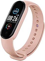 RHG Tracker Fitness M5 Smart Sport Band Orologio Tracker attività con Cardiofrequenzimetro Smartwatch Impermea