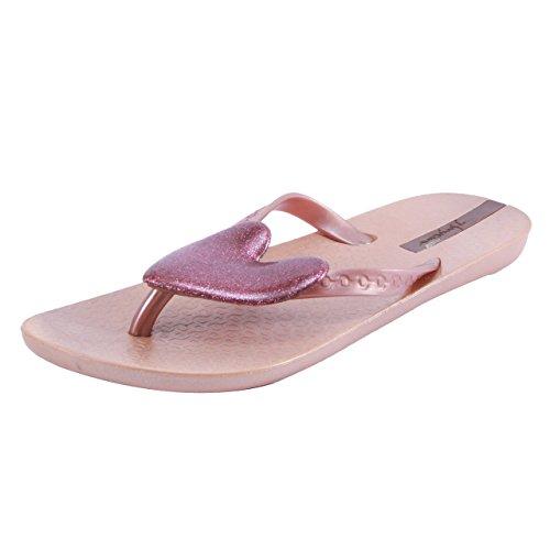 Ipanema Women's Pink PVC Flip Flops - 5 UK