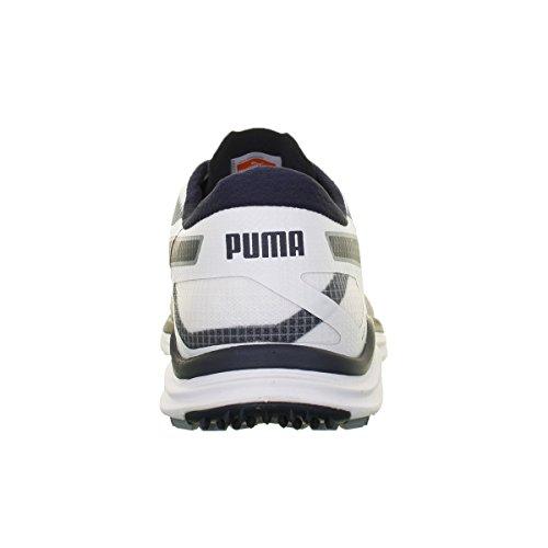 Puma bioDrive-strong pour chien bleu/jaune-cO idéal White/Tradewinds/Peacoat