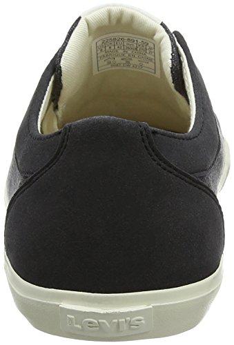Levi's Woods, Baskets Homme Noir (Noir Regular Black)