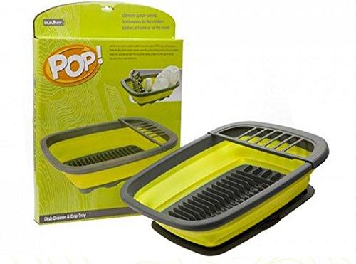 Summit Pop Dish Drainer mit Tropfschale
