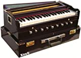 Xoz® 7 Stopper Double Bellow 39 Keys Harmonium Bass, Male Reed With Cover by sandhu musicals (kawaljeet singh)