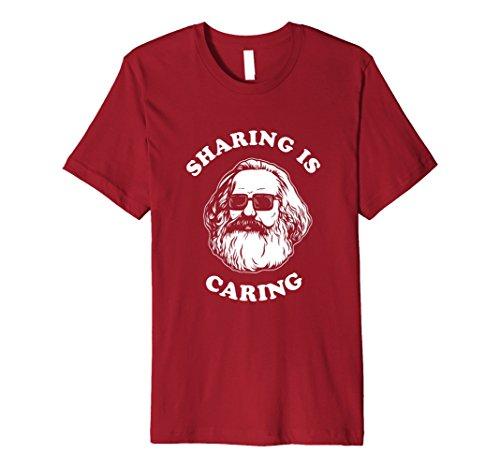 Sharing is Caring T-Shirt?Karl Marx Funny Sozialismus Preisvergleich