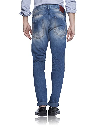 Scotch & Soda Herren Relaxed Jeans Ralston - Peacock Blau (denim blue 48)