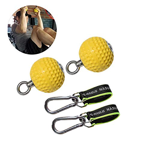 CampHiking Pull Up Fitness Equipment Handgelenkabzieher Trainingsball Pointing Grip Power Balls, 72 mm