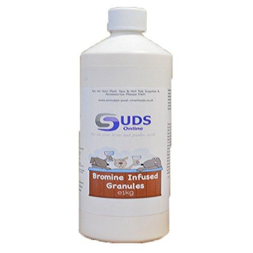 SUDS-ONLINE para infusión de bromo, 1kg para jacuzzi spa piscina productos químicos