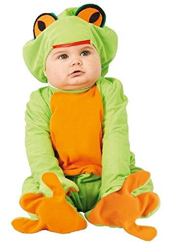 Grüner Frosch Tier Halloween Kostüm Kleid Outfit 6-12 12-24 Monate - Grün, 6-12 Months ()