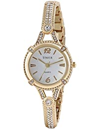 Carlos Analogue White Dial Women's & Girl's Watch (Timergirls_Watch-4)