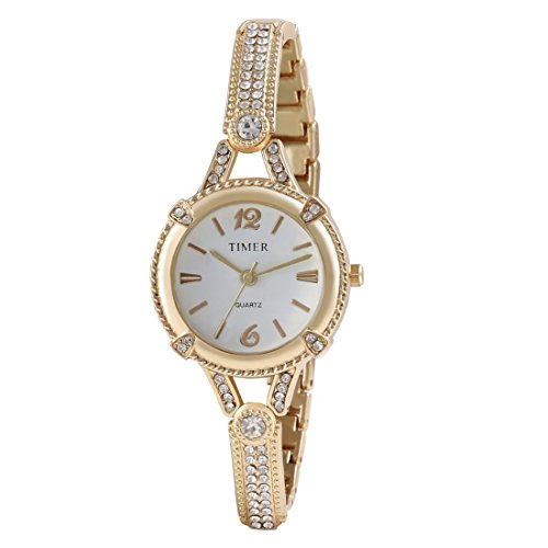 Carlos Analogue White Dial Women's & Girl's Watch (Timergirls!_Watch-4)