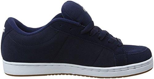Etnies Herren Kingpin Skateboardschuhe Blau (478-navy/white/gum)