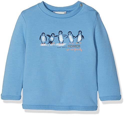 Sanetta Baby - Jungen Sweatshirt Sweatshirt, per Pack Blau (Midblue 5760.0), 62 (Herstellergröße: 062)