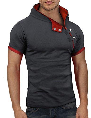 Bents & Mood Slim Fit Hoodie Poloshirt T-Shirt