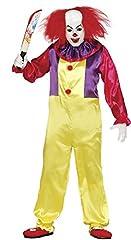 Idea Regalo - Fiestas Guirca Costume Clown Killer It Pagliaccio Assassino