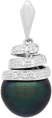 Bijoux pour tous - Joyería de oro blanco con perla (.03)