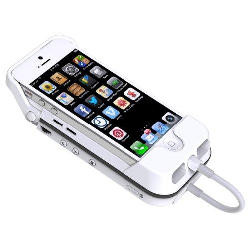 Aiptek MobileCinema i55 Mobile DLP Pico Projektor für Apple iPhone 5/5S (VGA,...