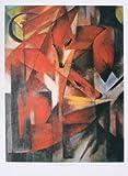 Franz Marc Füchse Poster Kunstdruck Bild 55x39cm