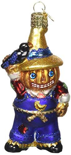 Old World Christbaumschmuck: Halloween Kitty Glas geblasen Ornamente für Weihnachtsbaum Punk-Vogelscheuche 4