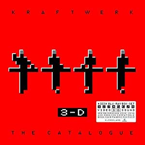 Kraftwerk - 3-D The Catalogue (4 Blu-Ray)