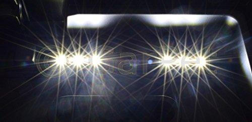40×25 cm Aquarium Terrarium Abdeckung LED 2,16 W Beleuchtung schwarz 40 - 6