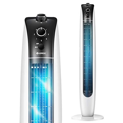 CanKun Geräuscharmer, schwebender 41-Zoll-Tower-Lüfter, 3 Geschwindigkeiten und Modi, programmierter 2-Stunden-Timer für Raumluftumwälzpumpe Ultra-leise Kühlungslösung