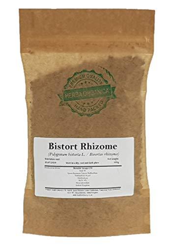 Schlangen-Knöterich Rhizome/Polygonum Bistorta L/Bistort Rhizome # Herba Organica # Wiesen-Knöterich (100g)