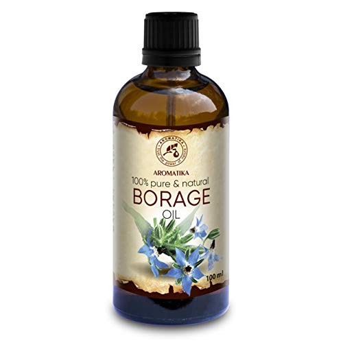 Huile de Graine de Bourrache 100ml - Borago Officinalis Seed Oil - 100% Pure et...
