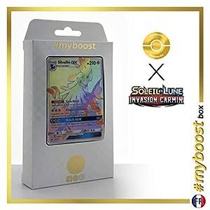 Silvallié-GX (Silvally-GX) 119/111 Arcoíris Secreta - #myboost X Soleil & Lune 4 Invasion Carmin - Box de 10 Cartas Pokémon Francés
