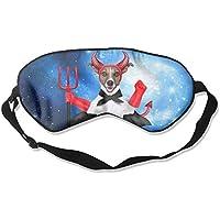 Satan 99% Eyeshade Blinders Sleeping Eye Patch Eye Mask Blindfold For Travel Insomnia Meditation preisvergleich bei billige-tabletten.eu
