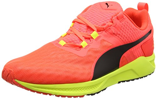 Puma IGNITE XT v2 - Zapatillas de deporte Unisex Adulto, Rojo (Red Blast-Safety Yellow 02 ), 44 EU (9.5 UK)