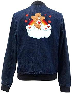 Heart Bear Bomber Chaqueta Girls Jeans Certified Freak
