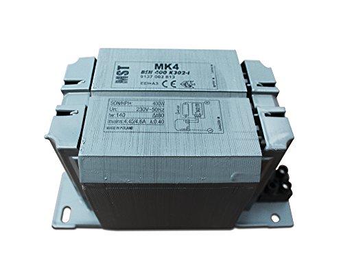 Vorschaltgerät VVG BSN400 für Natriumdampflampen wie SON und NAV 400 Watt 400W -