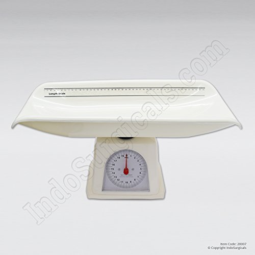 IndoSurgicals™ Baby Weighing Scales (Pan Type), Capacity 20 Kg.