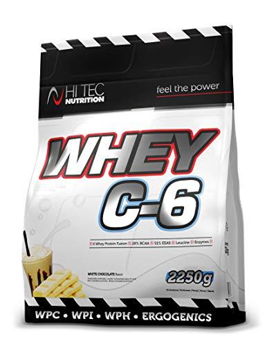 HI-TEC HT Whey C-6 Biaa Czekolada, 2.2 kg