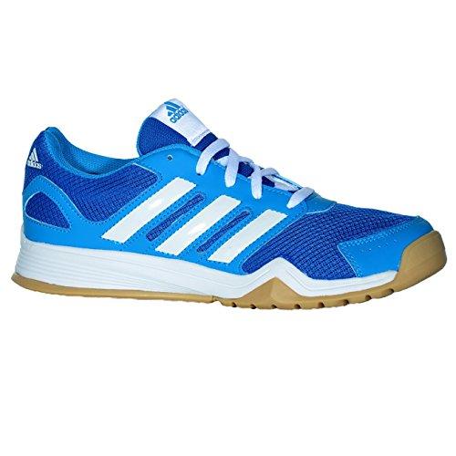 Adidas Kinder Hallenschuhe Sportschuhe Interplay Lace K B26107 Blau, Schuhgröße:38 2/3