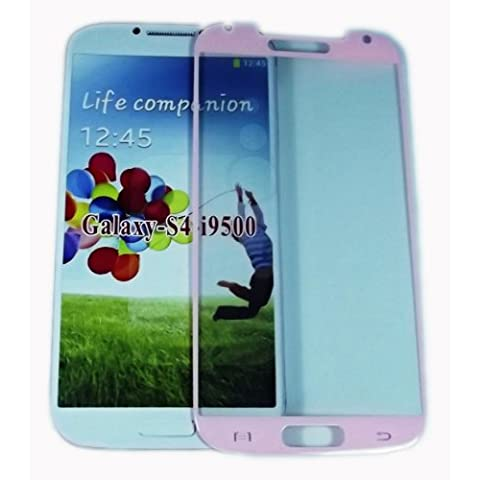 Protector de pantalla i9505 Premium Rosa color Asahi 0,4 ml i9500 templado vidrio Samsung Galaxy S4 Oleophobic y Lyophobic