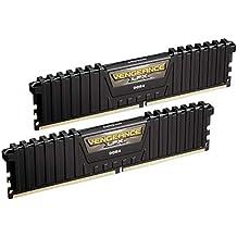 Corsair Vengeance LPX - Módulo de Memoria XMP 2.0 de Alto Rendimiento de 16 GB (2 x 8 GB, DDR4, 3000 MHz, C15), Color Negro