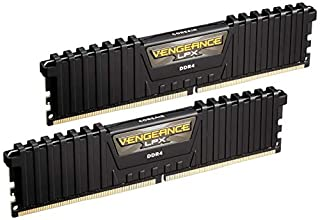 Corsair CMK16GX4M2B3000C15 Vengeance LPX Memorie XMP 2.0 di alte prestazioni per Desktop a Elevate Prestazioni, 16 GB (2 X 8 GB), DDR4, 3000 MHz, C15, Nero (B0134EW7G8) | Amazon price tracker / tracking, Amazon price history charts, Amazon price watches, Amazon price drop alerts
