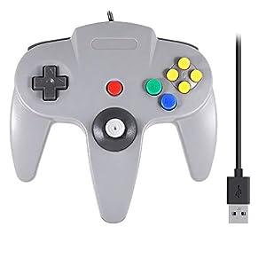 QUMOX Nintendo 64 N64 SPIELE CLASSIC GAMEPAD CONTROLLER FÜR USB PC MAC