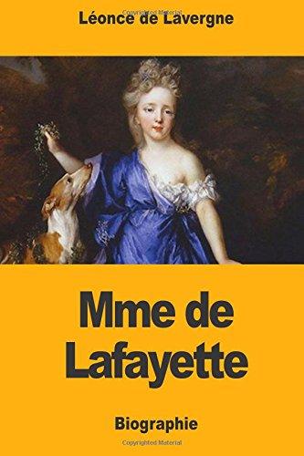 Mme de Lafayette