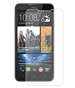 HTC Desire 516 Dual Sim Compatible Tempered Glass Screen Protector (Antishock, Curved Edged) (Pack of 2, Only Front Transparent) (Combo Offer, get a VJOY 7800 mAh Power-Bank Yellow) (1 Year Replacement Guarantee, Li-ion Battery, Long Battery-Life) worth Rupee 2100/- absolutely free with Screen Protector)