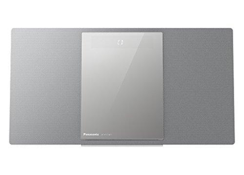 Panasonic SC-HC1040EGS HiFi System (40W RMS, CD, Radio, DAB+, USB, Bluetooth, WLAN) silber