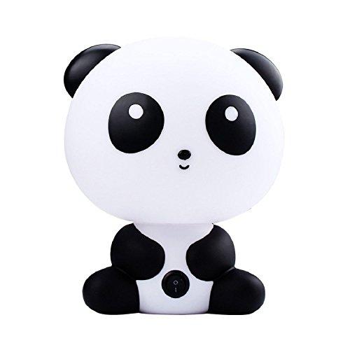 Minetom Led Nachtlicht Kreative Reizende Cartoon Tieren Lampen Tischleuchte Nachttischlampen Für Kinder Panda (Niedlichen Tier Halloween Bilder)