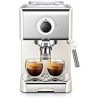 Lixin Maquina de Cafe Máquina de café pequeña semiautomática Italiana Vapor Leche Espuma Bomba electromagnética Protección