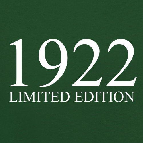 1922 Limierte Auflage / Limited Edition - 95. Geburtstag - Herren T-Shirt - 13 Farben Flaschengrün