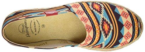 MISS HAMPTONS New Mexico, Espadrilles femme multicolore (MUTICOLOR)