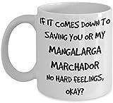Funny Mangalarga Marchador Coffee Mug White Ceramic Tea Coffee Cup - 11 oz