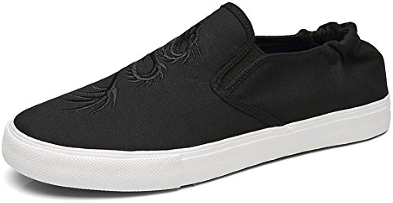 Zapatos de Hombre Lienzo Spring Fall Mocasines y Slip-Ons Comfort Sneakers Casual Respirable Zapatos Planos para  -