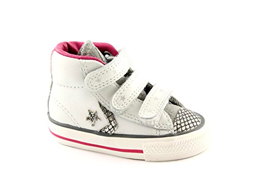 CONVERSE 746384C white silver star plyr ev v4 Shoes All Star Baby Tränen Bianco